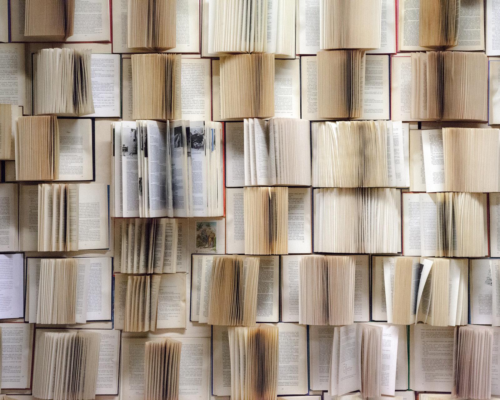 Bücherwand Texterstellung Redaktion Lektorat